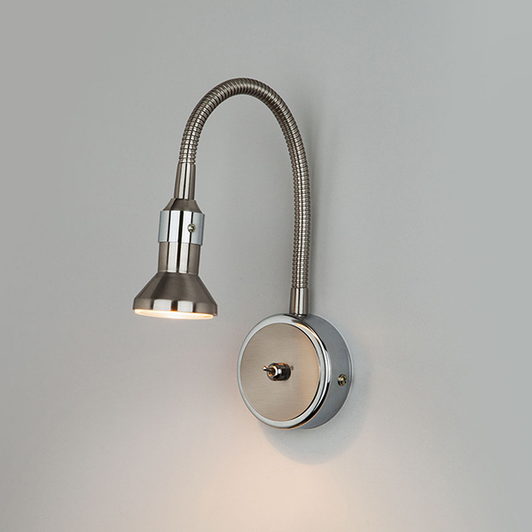 Plica никель/хром Подсветка галогенная 1215 MR16