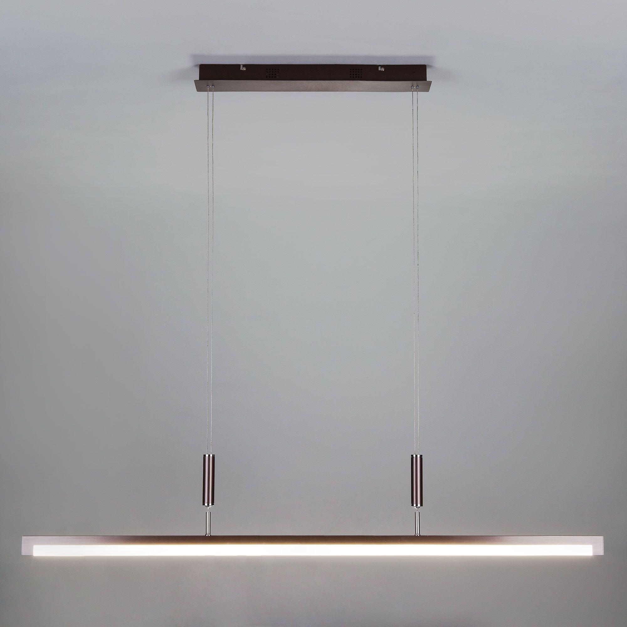 Светодиодный подвесной светильник с лифтом и регулировкой яркости 90030/1 коричневый