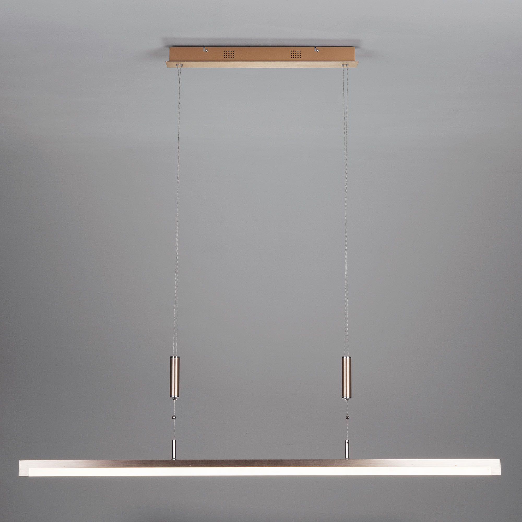 Светодиодный подвесной светильник с лифтом и регулировкой яркости 90030/1 золото