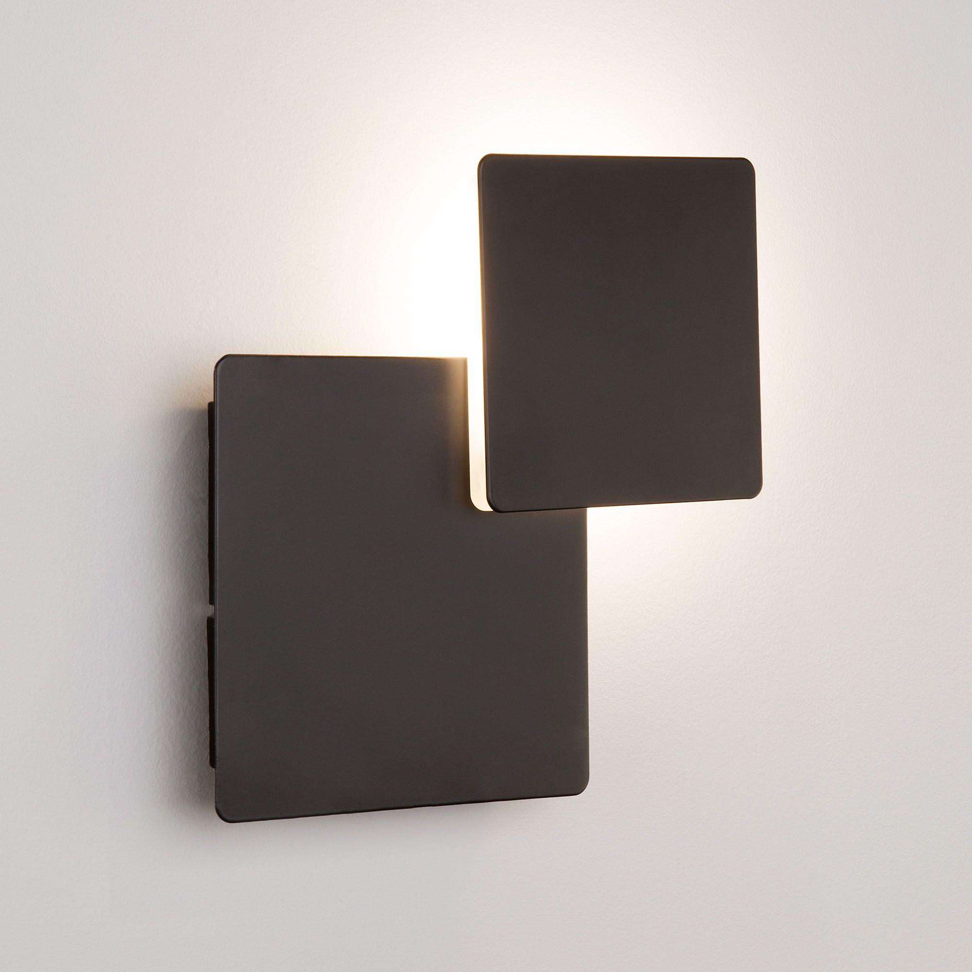 Светодиодный настенный светильник 40136/1 черный
