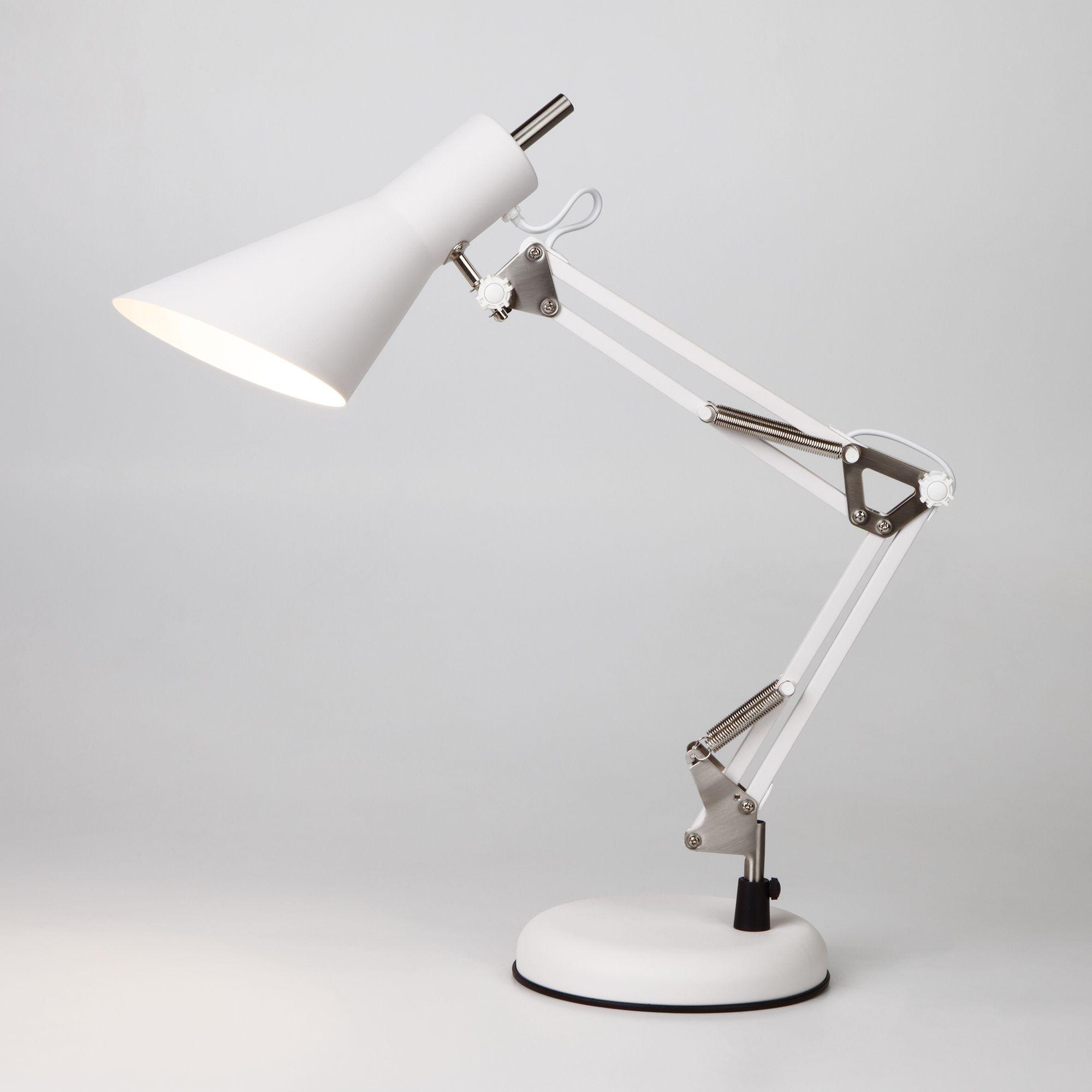 Настольная лампа ученическая 01032/1 белый