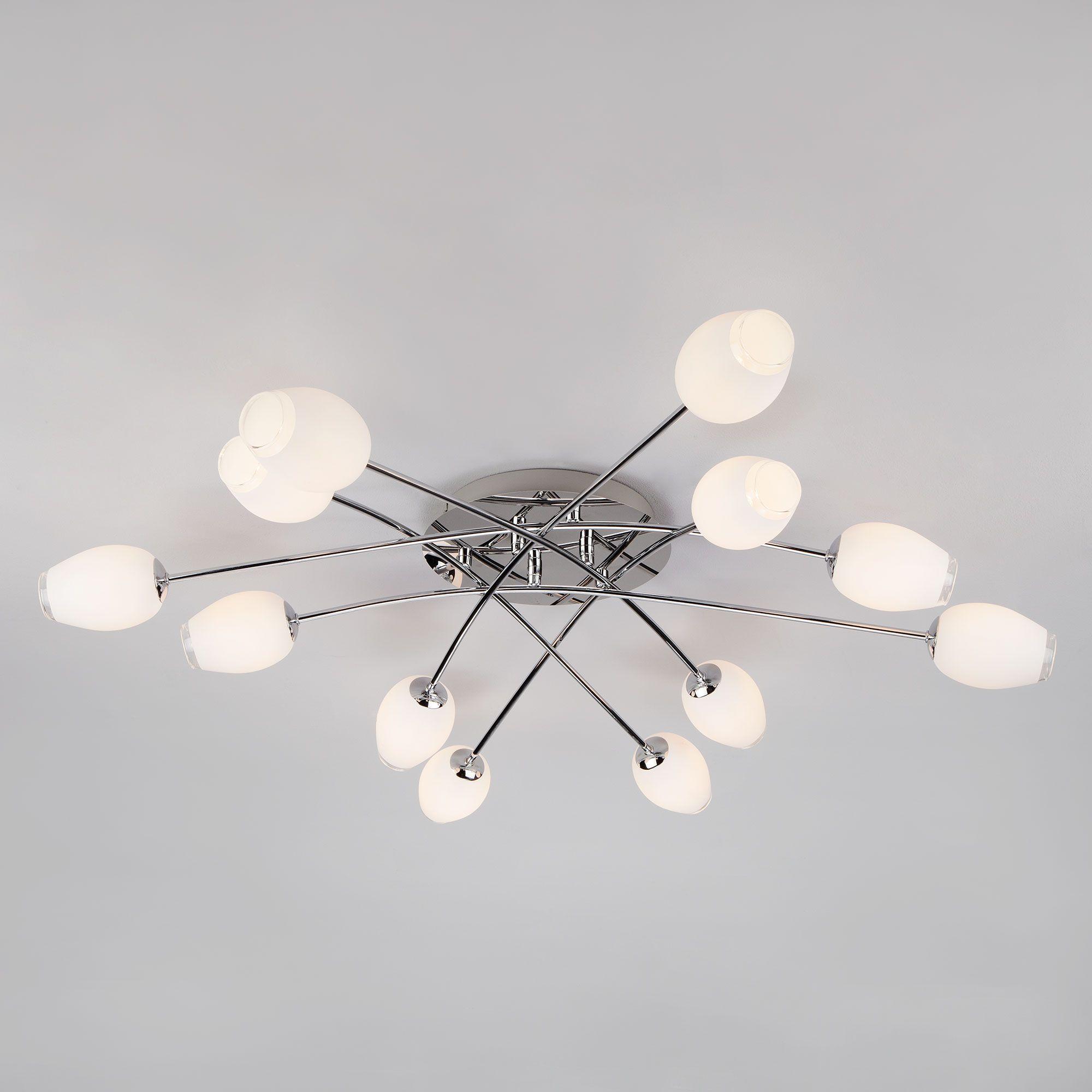 Потолочный светильник 30135 хром