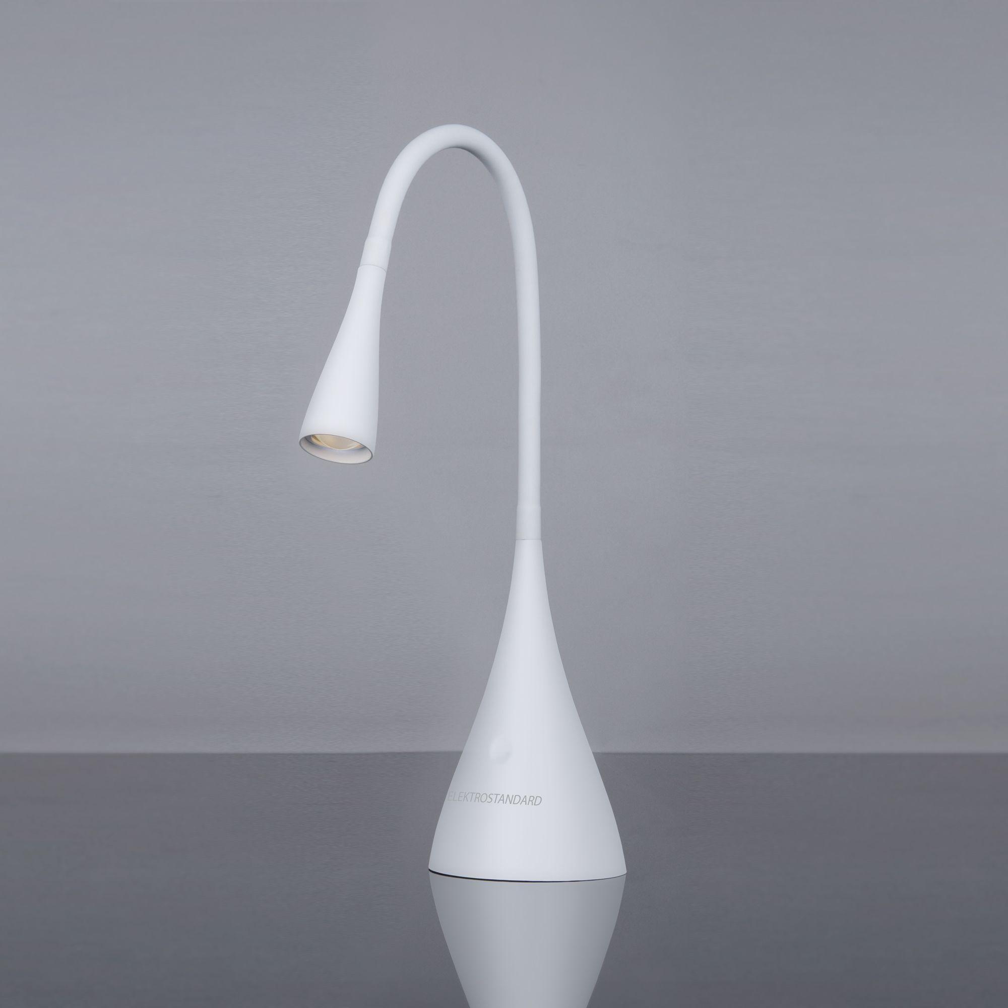 Светодиодный настольный светильник Lola белый матовый (TL80990)