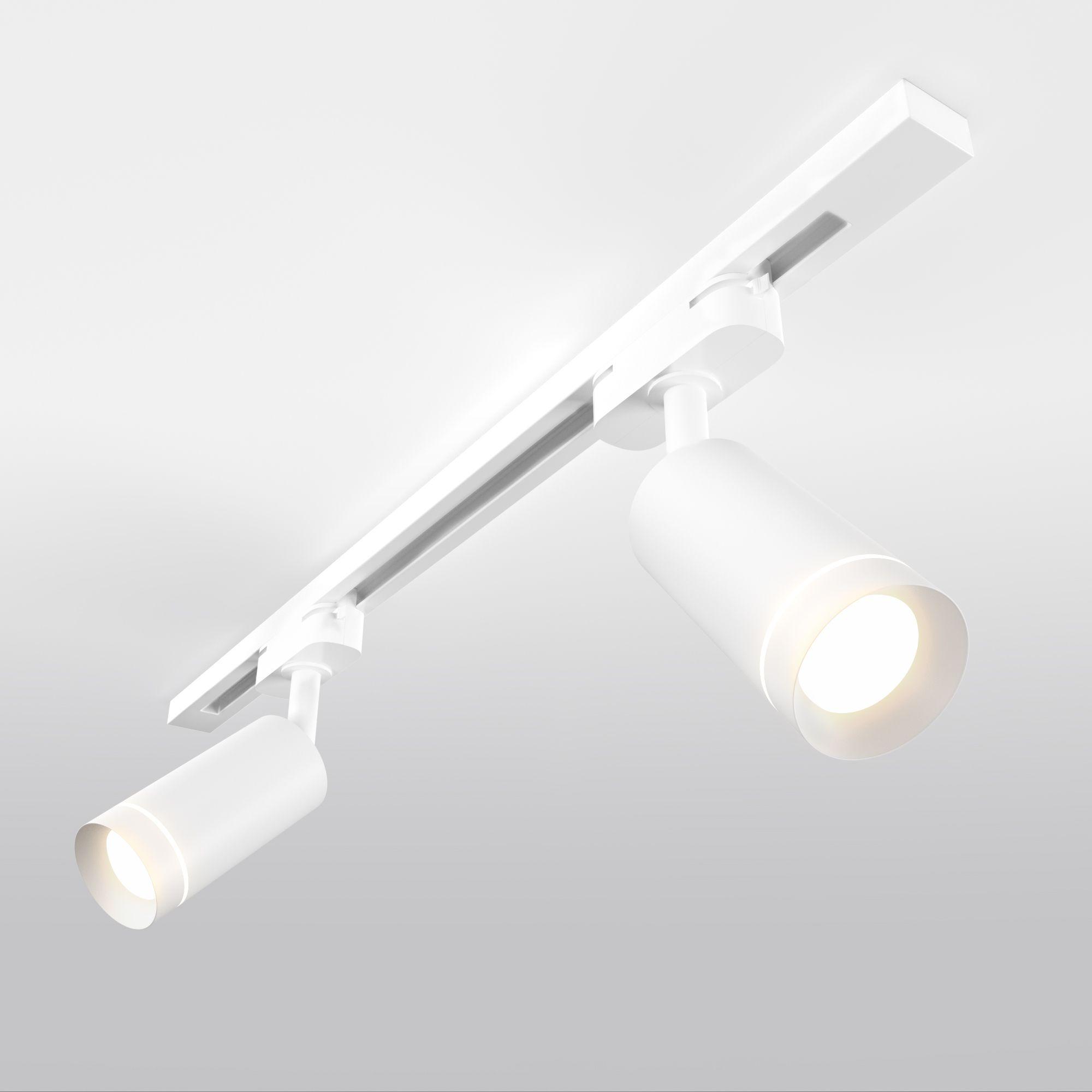 Трековый светодиодный светильник для однофазного шинопровода Glory Белый 7W 4200K LTB39