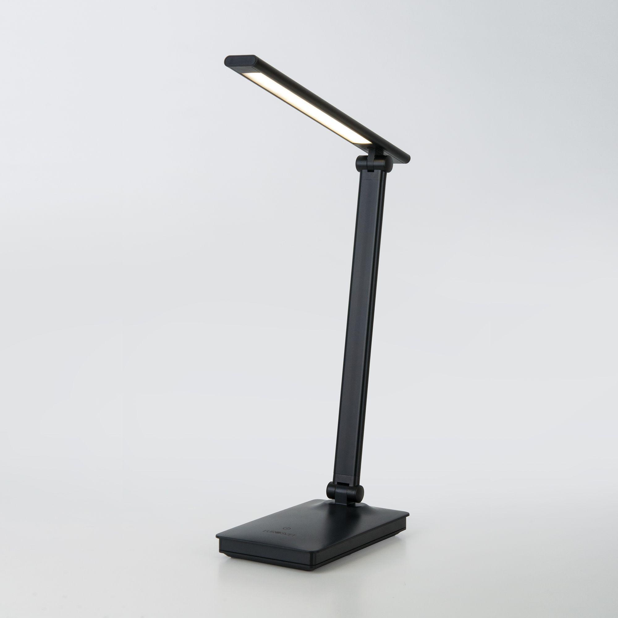 Светодиодная настольная лампа с сенсорным управлением 80423/1 черный