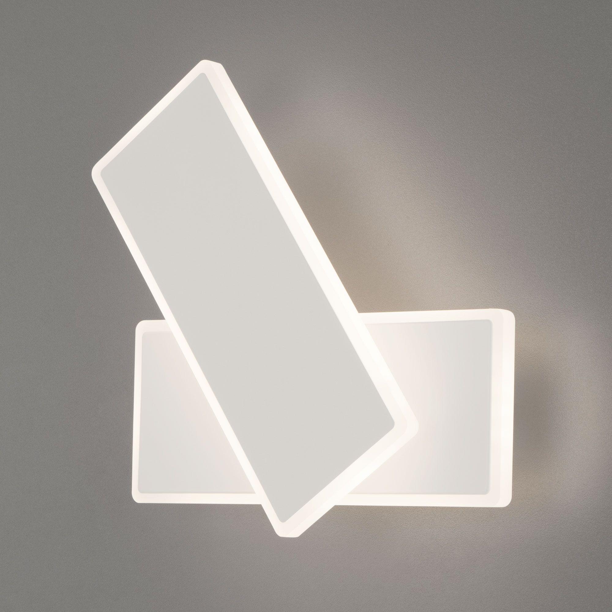 Настенный светодиодный светильник 90316/2 белый