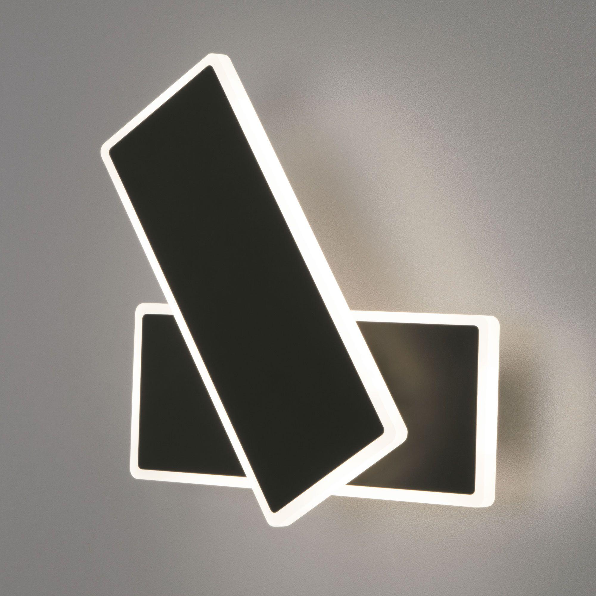 Настенный светодиодный светильник 90316/2 черный