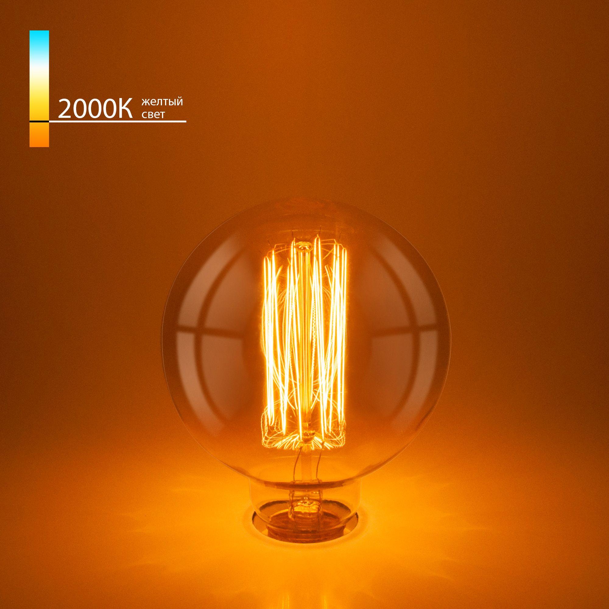 Лампа Эдисона G95 60W