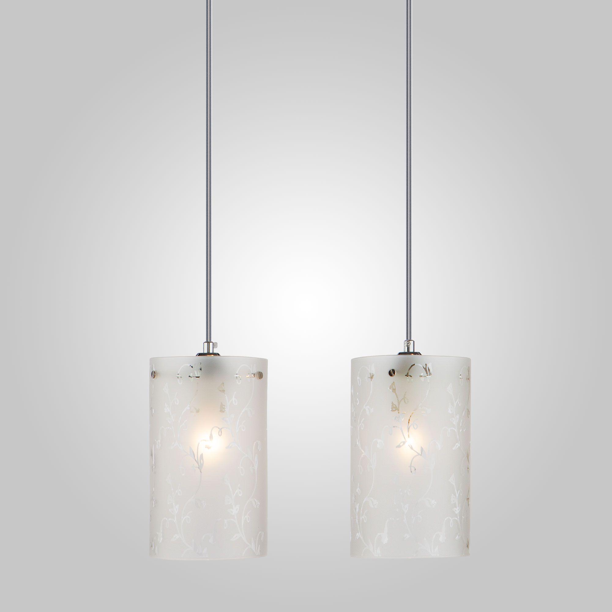 Подвесной светильник 1129/2 хром