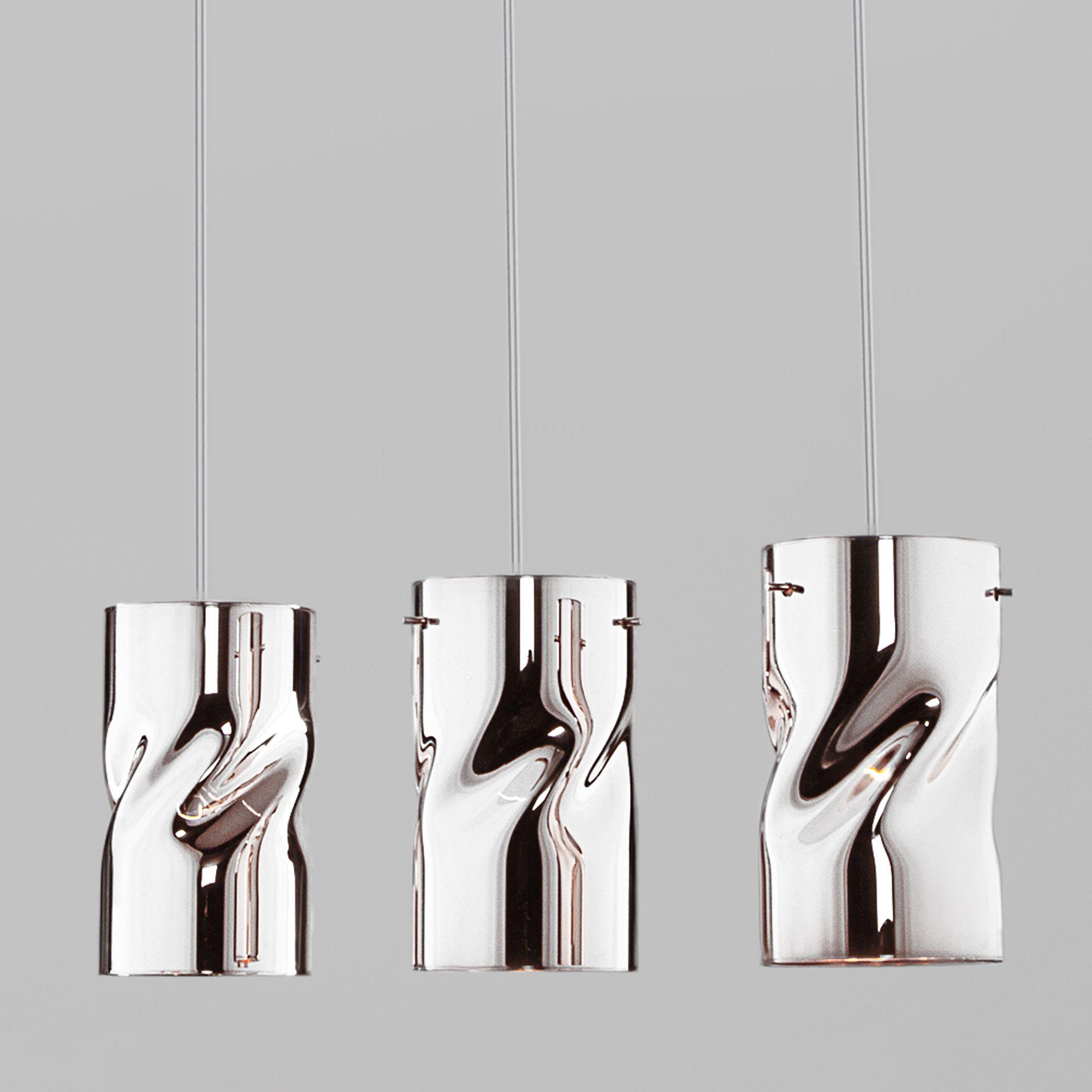 Подвесной светильник 50184/3 хром