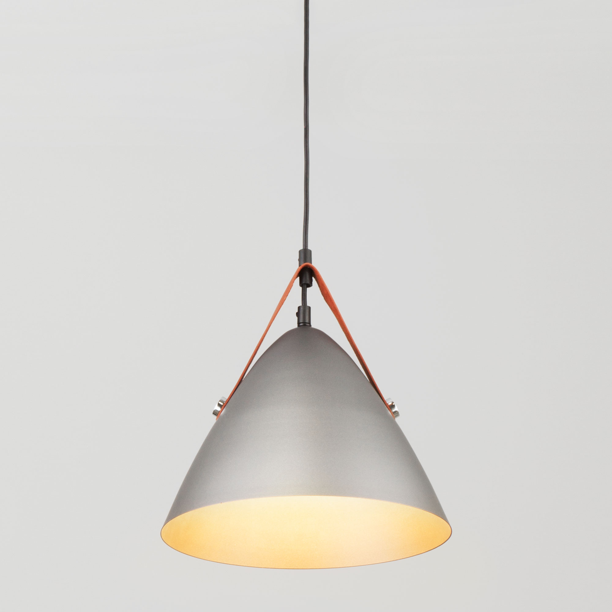 Подвесной светильник с коническим плафоном 50141/1 серый