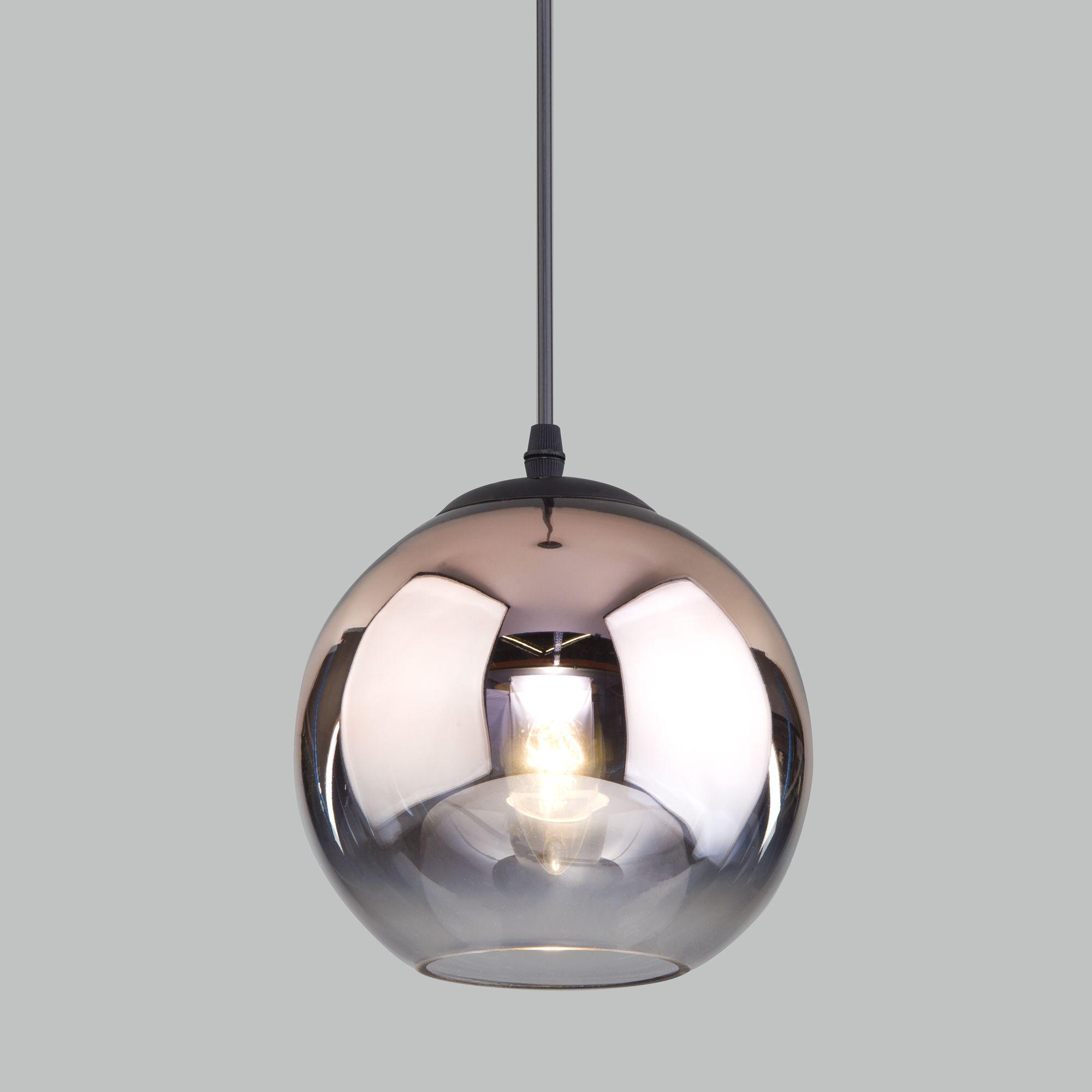 Подвесной светильник со стеклянным плафоном 50200/1 медь