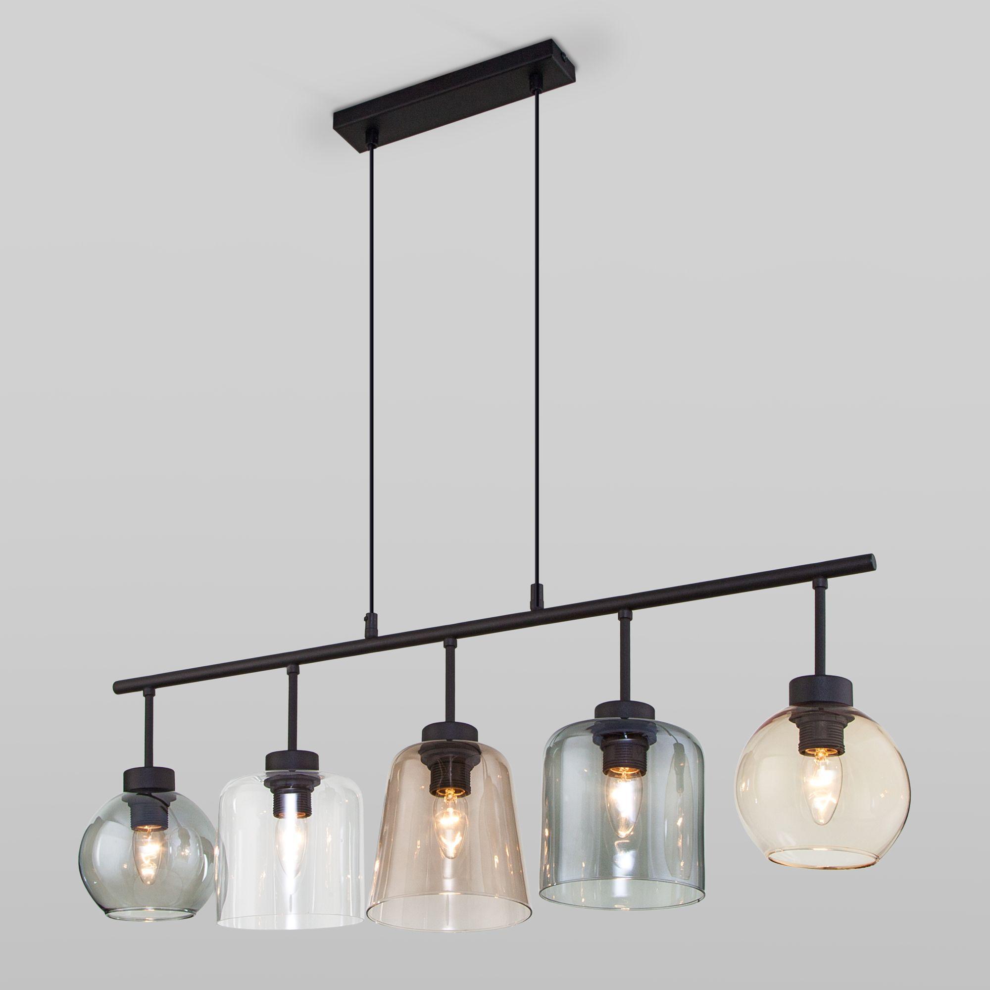 Подвесной светильник со стеклянными плафонами 3273 Cubus