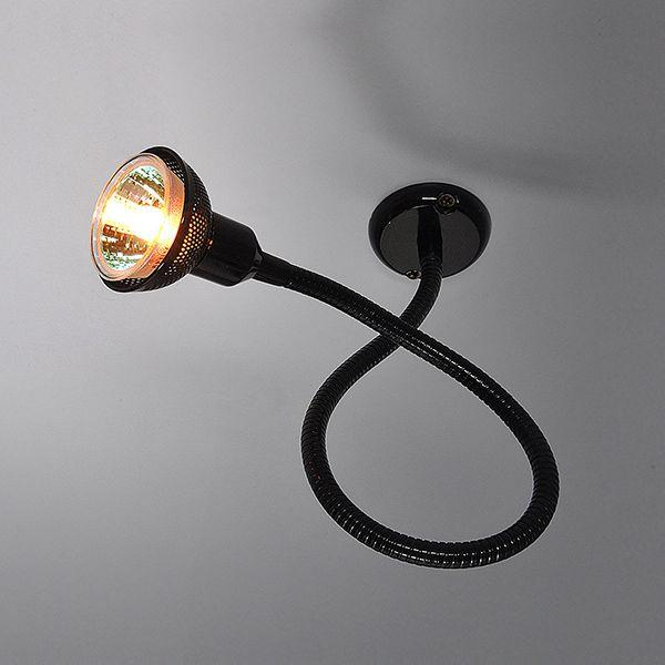 Подсветка с гибким проводом 1214 MR16 черный