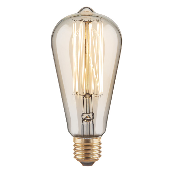 Лампа Эдиссона ST64 60W