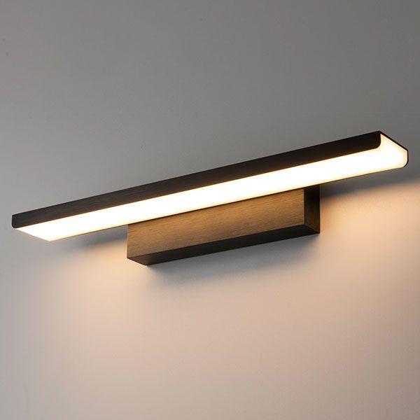 Светодиодная подсветка Sankara LED черная (MRL LED 16W 1009 IP20)