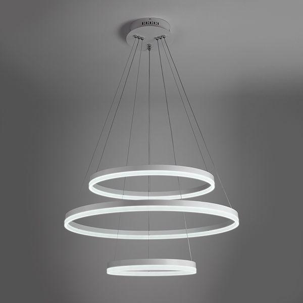 Светодиодный подвесной светильник 90078/3 белый
