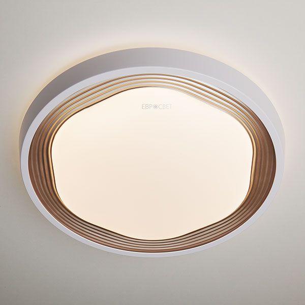 Светодиодный потолочный светильник 40005/1 LED кофе