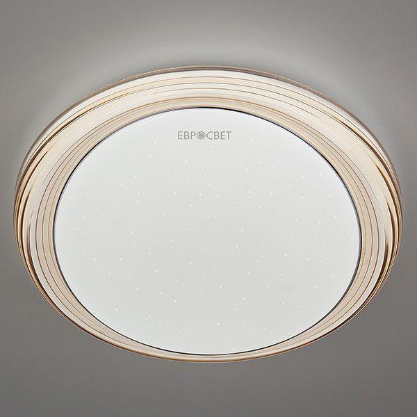Светодиодный потолочный светильник 40007/1 LED кофе