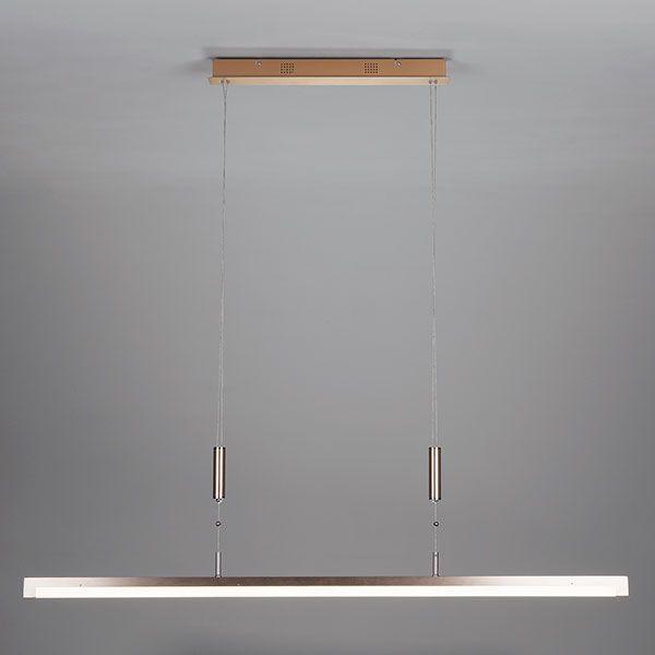 Светодиодный подвесной светильник 90030/1 золото