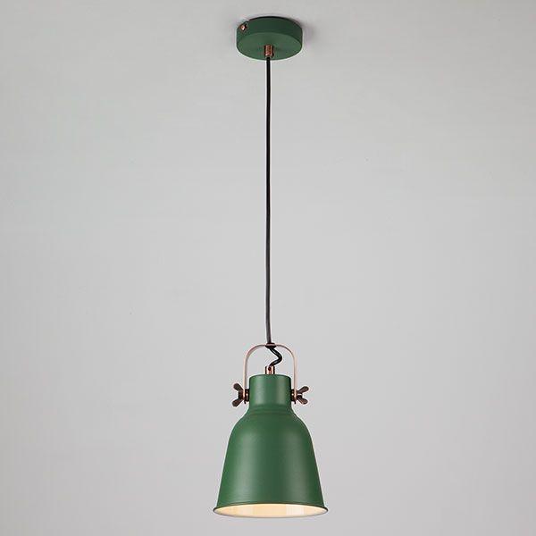 Подвесной светильник 50083/1 зеленый