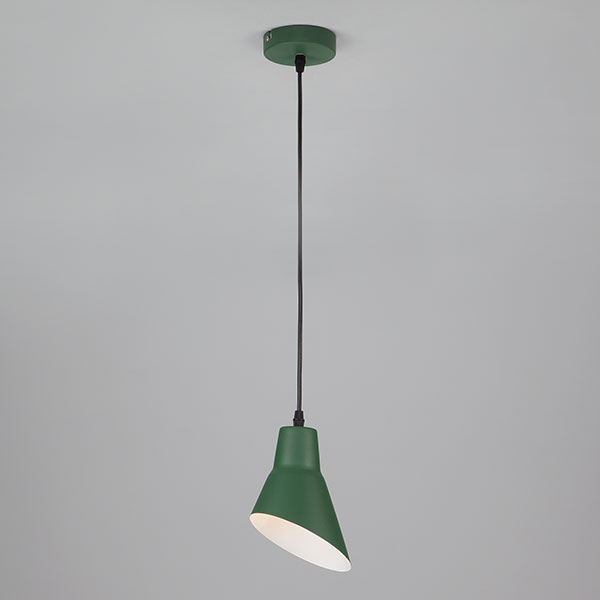 Подвесной светильник 50069/1 зеленый