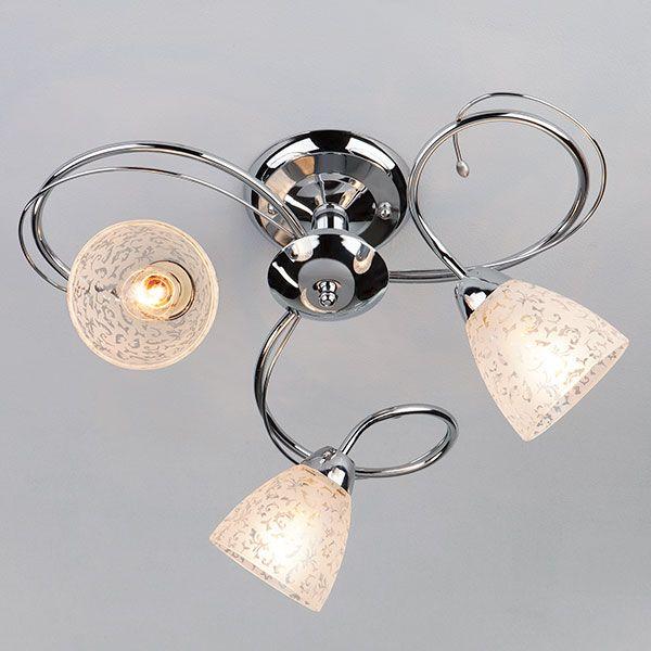 Потолочный светильник 30130/3 хром