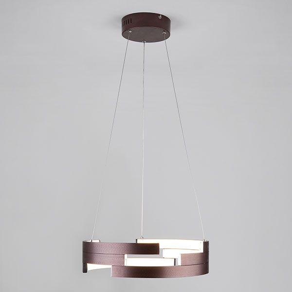 Светодиодный подвесной светильник 90094/1 коричневый