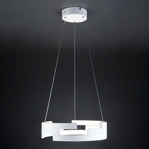 Светодиодный подвесной светильник 90094/1 белый