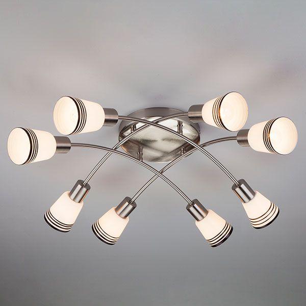 Потолочный светильник 30131/8 сатин-никель