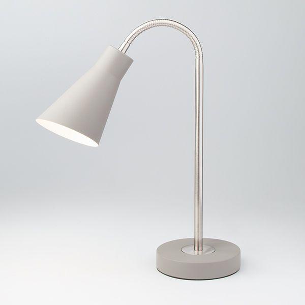 Настольная лампа 01029/1 серый