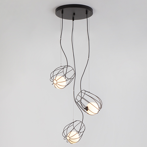 Подвесной светильник 50138/3 черный