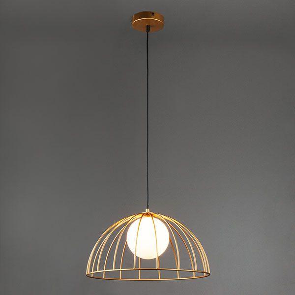 Подвесной светильник 50140/1 золотой