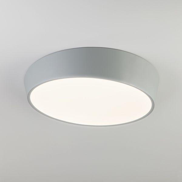 Светодиодный потолочный светильник 90113/1 серый