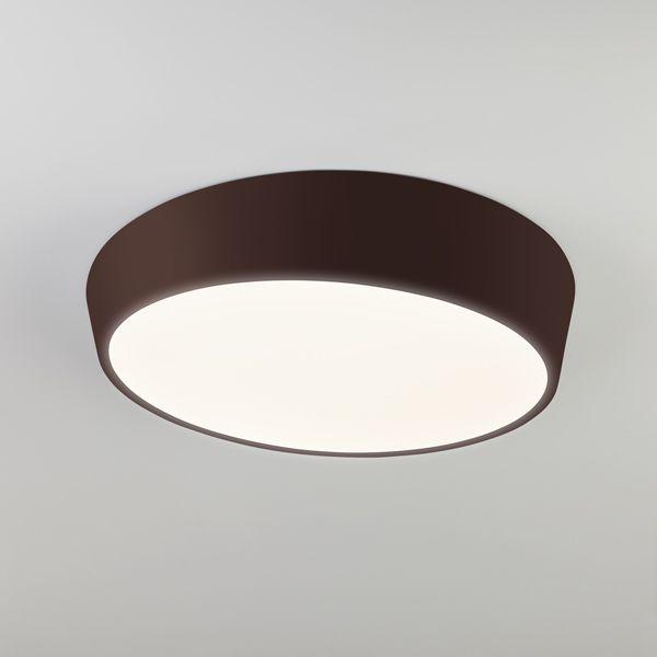 Светодиодный потолочный светильник 90113/1 коричневый