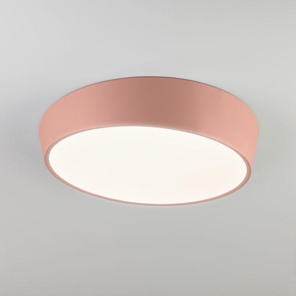 Светодиодный потолочный светильник 90113/1 розовый