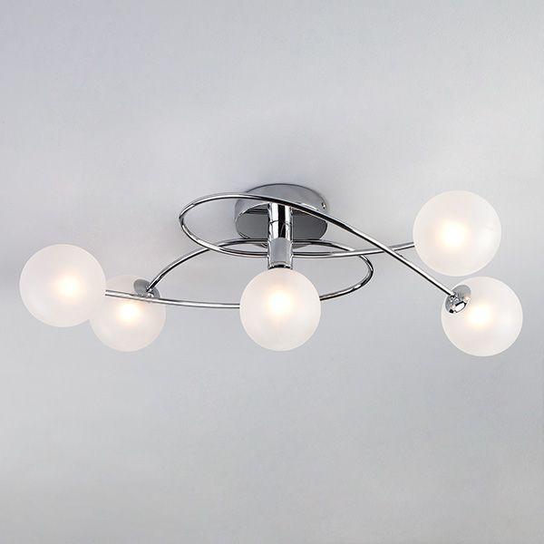 Потолочный светильник 30134/5 хром