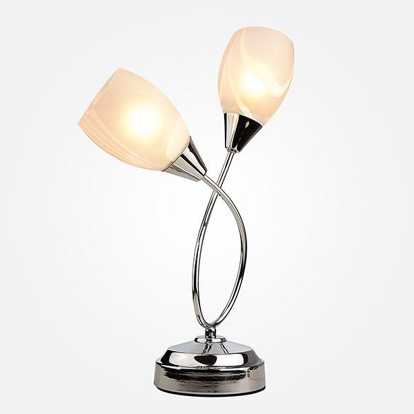 Настольная лампа 01006/2 хром