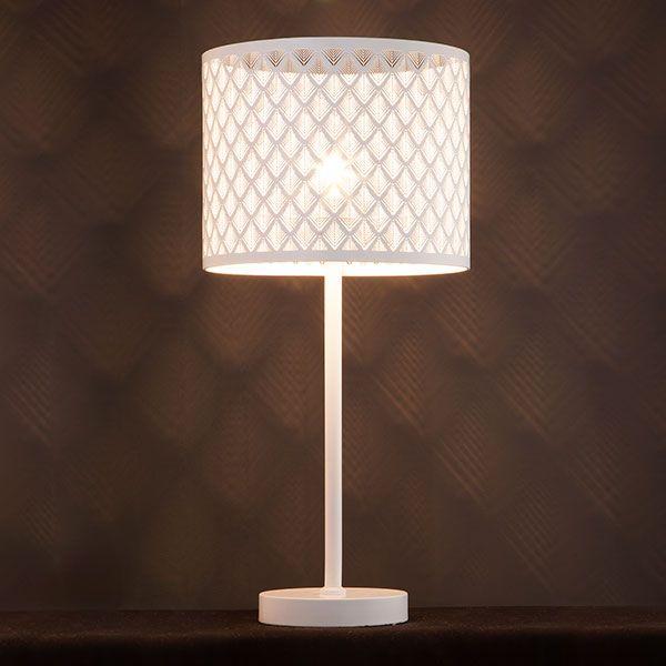 Настольная лампа 01018/1 белый (фото 5)