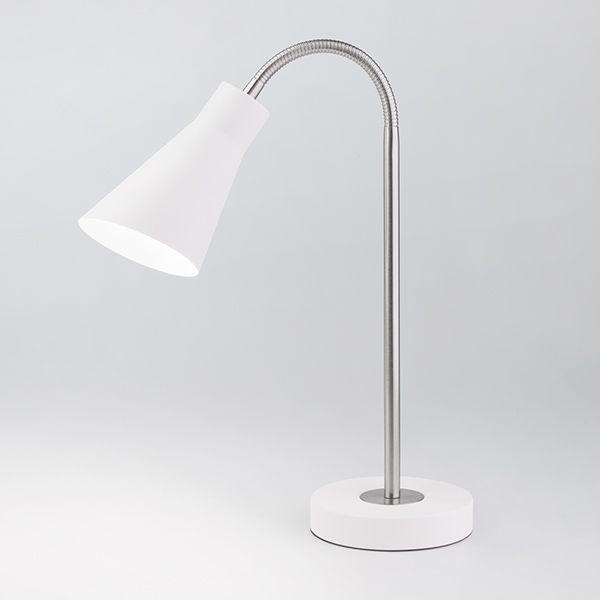 Настольная лампа 01029/1 белый