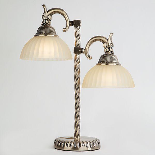 Настольная лампа 89247/2 античная бронза наст лампа
