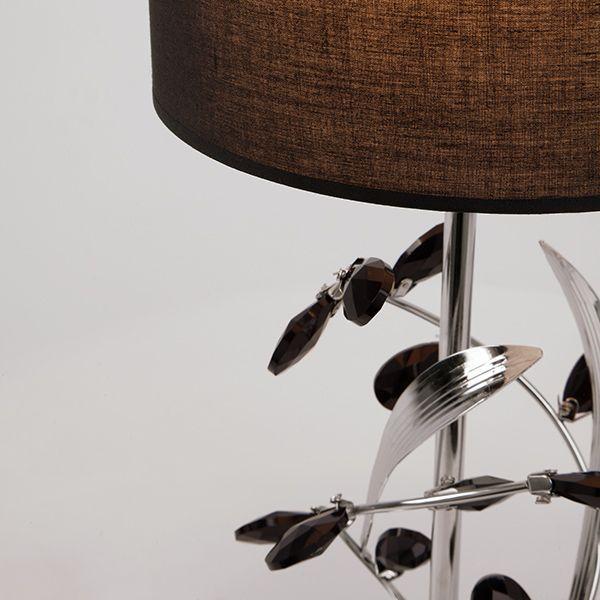 Настольная лампа с абажуром 01017/1 хром (фото 3)