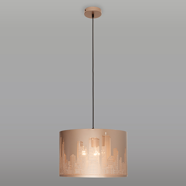 Подвесной светильник 50066/3 золотой
