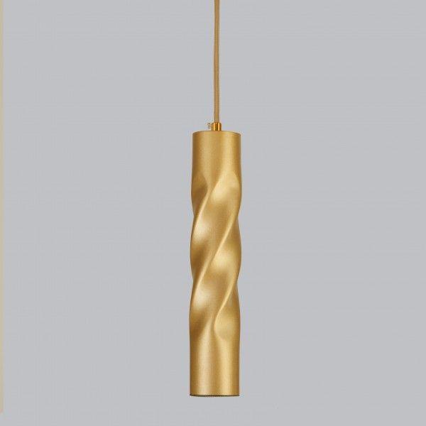 Подвесной светодиодный светильник 50136/1 LED золото