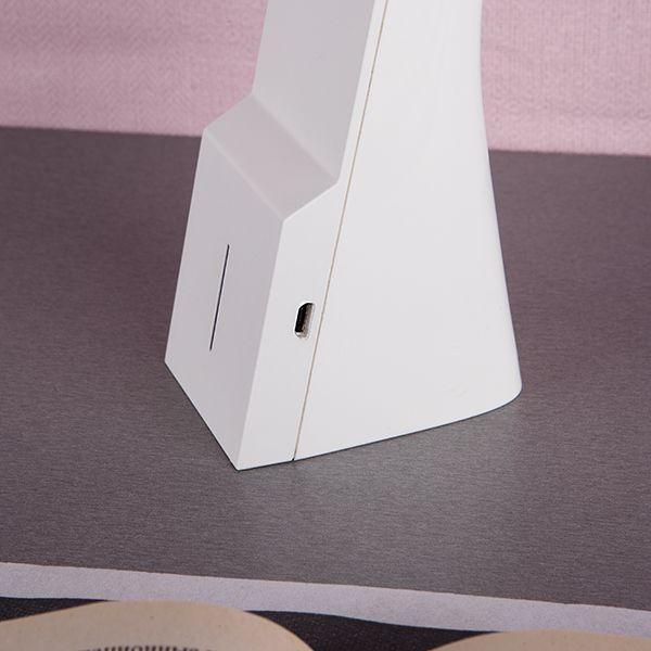 Светодиодная настольная лампа Desk белый/серебряный (TL90450) (фото 7)