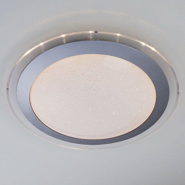 Светодиодный потолочный светильник 40002/1 LED матовое серебро