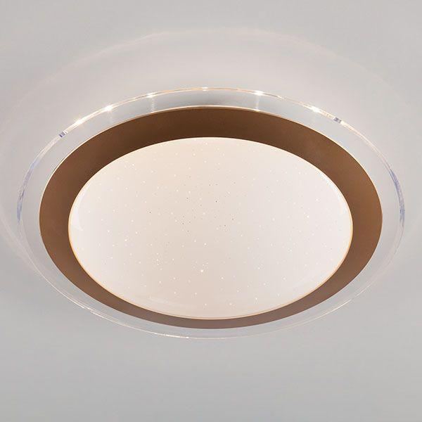 Светодиодный потолочный светильник 40002/1 LED матовое золото