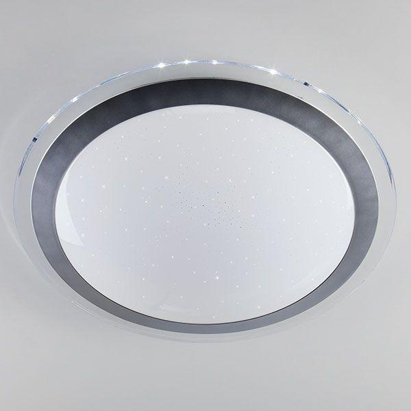 Светодиодный потолочный светильник 40003/1 LED матовое серебро