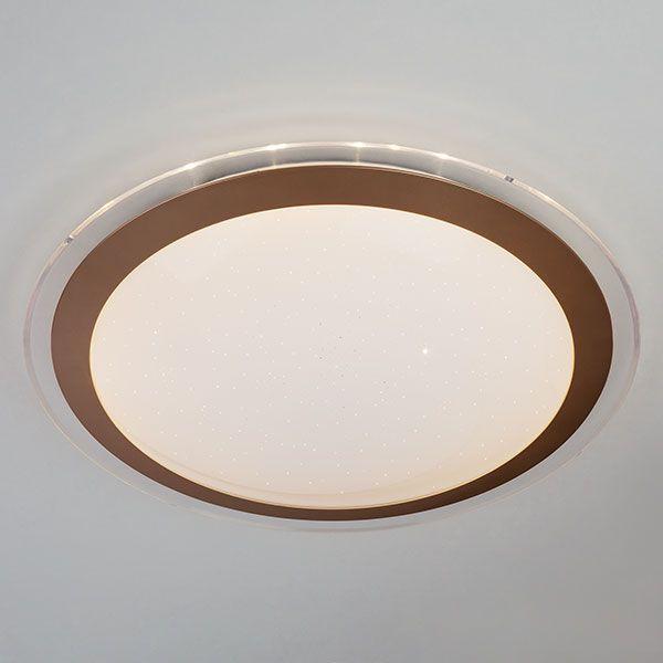 Светодиодный потолочный светильник 40003/1 LED матовое золото