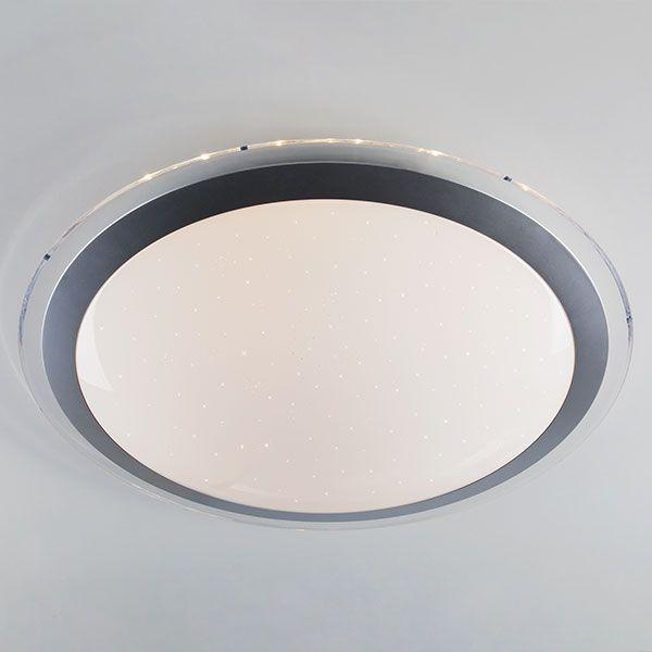 Светодиодный потолочный светильник 40004/1 LED матовое серебро